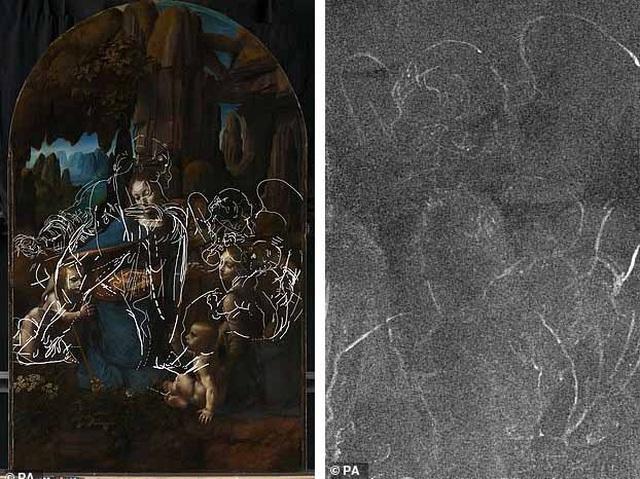 Leonardo da Vinci đổi ý giữa chừng khi thực hiện siêu phẩm hội họa - 2