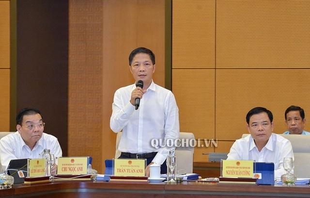 Bộ trưởng Công Thương, Công an báo cáo vụ xăng giả, vụ Asanzo - 1