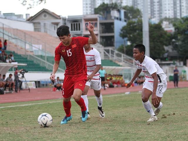 Thua U18 Campuchia, U18 Việt Nam bị loại khỏi giải U18 Đông Nam Á - 5