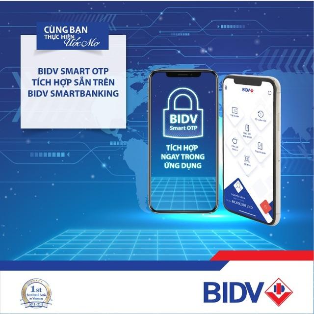 BIDV tích hợp Smart OTP ngay trên ứng dụng BIDV SmartBanking - 1