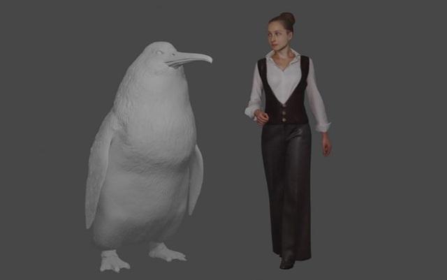 """Phát hiện hoá thạch loài chim cánh cụt """"quái vật"""" - 1"""