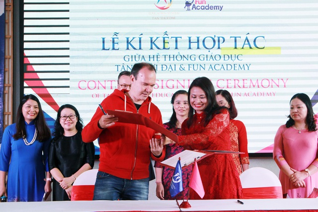 Hệ thống Giáo dục Tân Thời Đại hợp tác với Công ty Giáo dục Fun Academy Phần Lan - 3