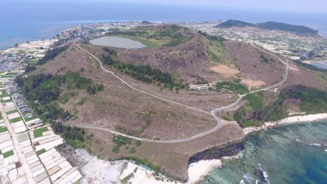 Quảng Ngãi: Đề nghị công nhận núi lửa triệu năm tuổi là di tích Quốc gia - 1