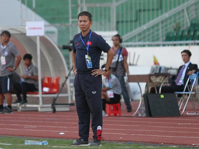 HLV Hoàng Anh Tuấn nói gì sau thất bại khó tin trước U18 Campuchia? - 1