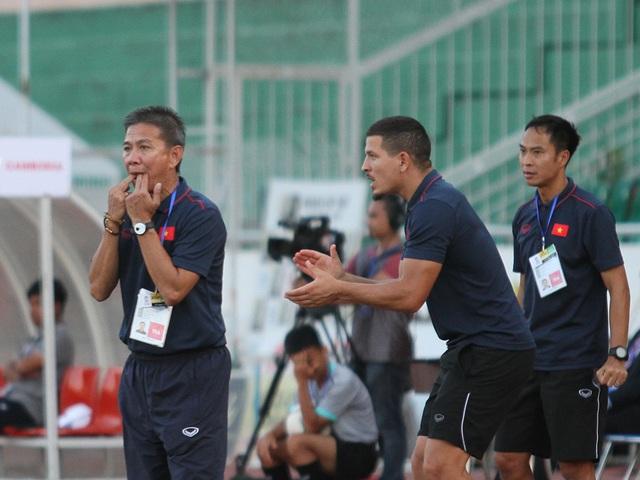 Những khoảnh khắc U18 Việt Nam bất lực trong trận thua sốc trước Campuchia - 5