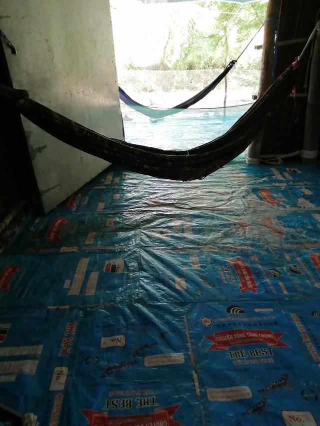 Xót thương cảnh vợ chồng Út Nhớ ôm con thơ trong lều bạt vượt qua cơn bão số 3 - 7