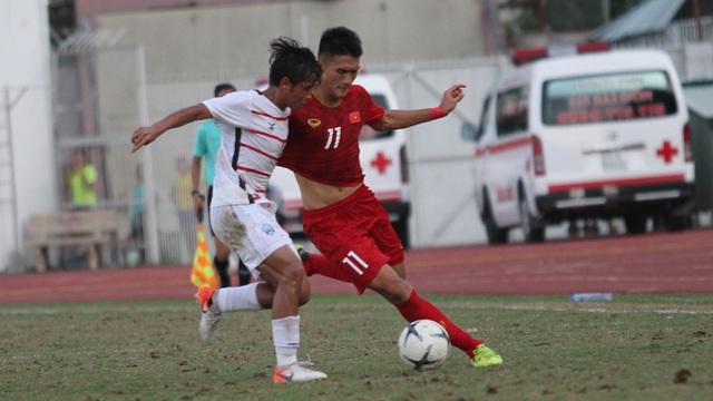 Những khoảnh khắc U18 Việt Nam bất lực trong trận thua sốc trước Campuchia - 1