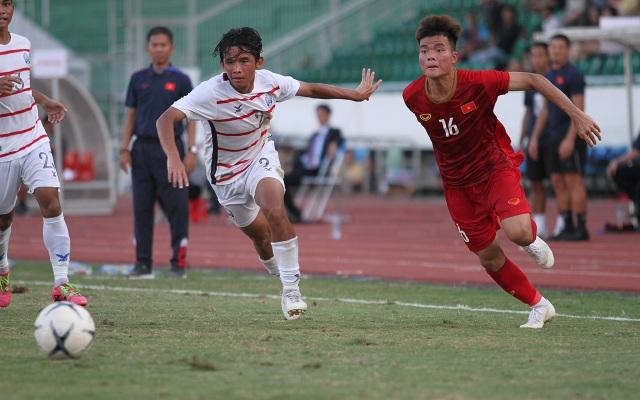 Những khoảnh khắc U18 Việt Nam bất lực trong trận thua sốc trước Campuchia - 2