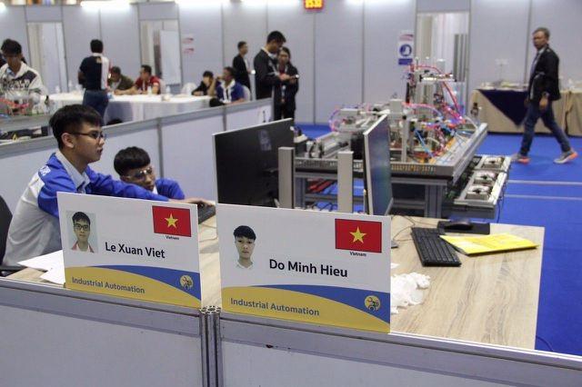 19 thí sinh Việt Nam dự Kỳ thi tay nghề thế giới lần thứ 45 - 1