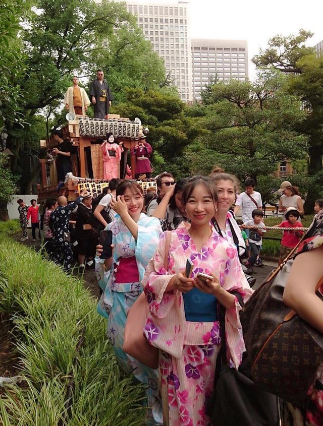 Cùng đón Lễ hội Obon với nữ du học sinh Việt tại Nhật - 1