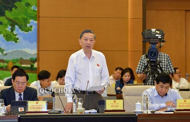Bộ trưởng Tô Lâm: Chưa phát hiện công an bảo kê cho tín dụng đen - 1