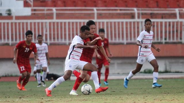 HLV Hoàng Anh Tuấn nói gì sau thất bại khó tin trước U18 Campuchia? - 3