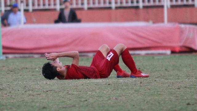 Những khoảnh khắc U18 Việt Nam bất lực trong trận thua sốc trước Campuchia - 18