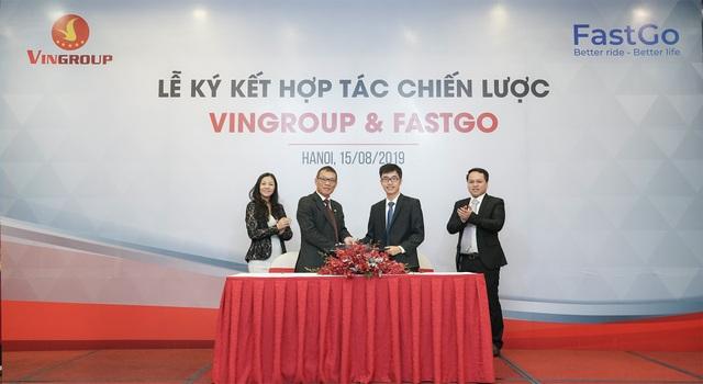 VinGroup hợp tác với Fastgo tham gia thị trường xe công nghệ - 1