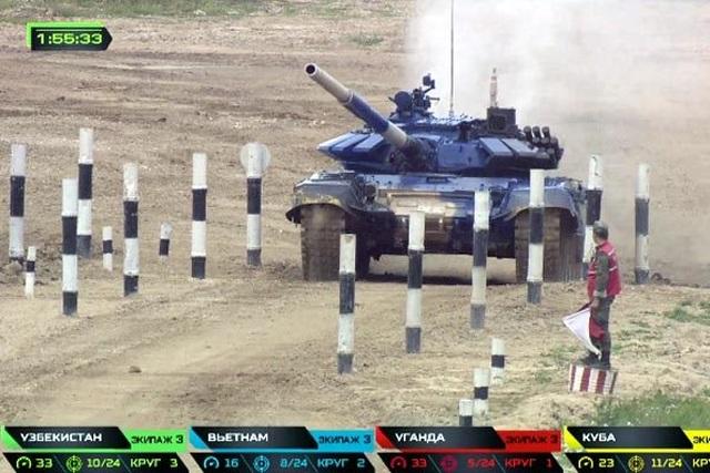Việt Nam giành hạng nhì chung kết đua xe tăng ở Nga - 5