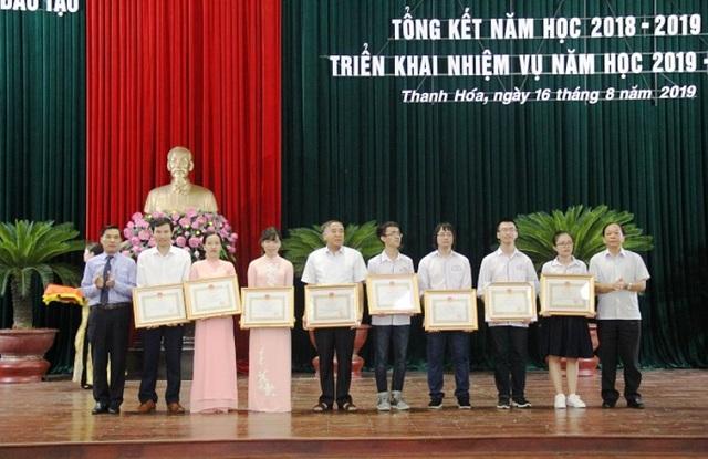 Học sinh Thanh Hóa dẫn đầu cả nước về huy chương Olympic quốc tế - 2