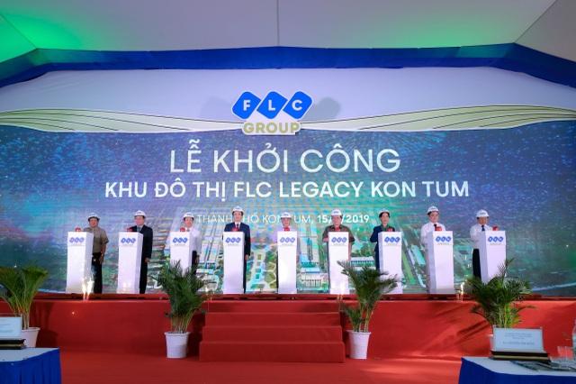 Chính thức khởi công FLC Legacy Kon Tum, dự án đô thị cao cấp đầu tiên của Tập đoàn FLC tại Tây Nguyên - 1