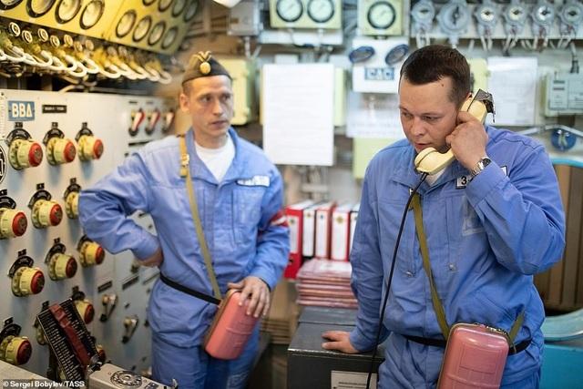 Cuộc sống nhà binh bên trong tàu ngầm lớn nhất thế giới của Nga - 2