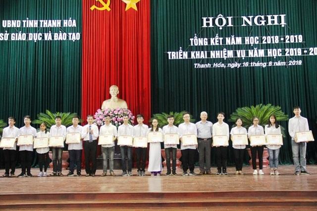 Học sinh Thanh Hóa dẫn đầu cả nước về huy chương Olympic quốc tế - 3