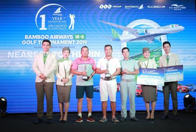 Bamboo Airways 18/8 Golf Tournament vinh danh các golfer xuất sắc trong ngày thi đấu đầu tiên - 1