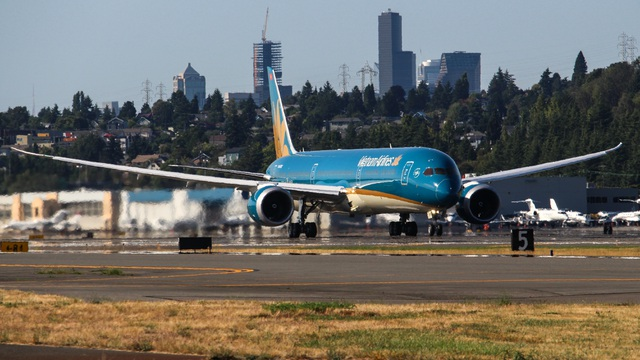 """Tối nay, """"siêu máy bay"""" Boeing 787-10 đầu tiên có mặt tại Việt Nam - 6"""