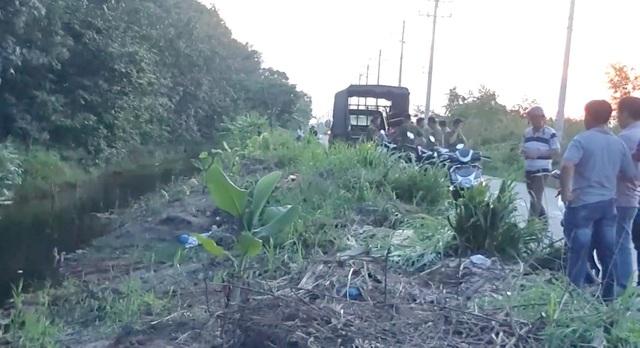 Nghi án tài xế xe ôm bị sát hại, thi thể nằm dưới mương nước - 1