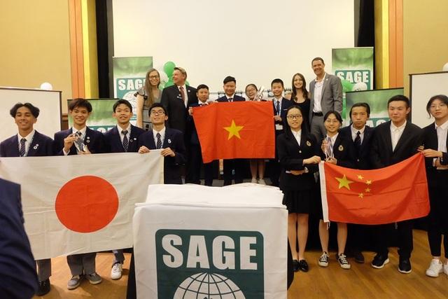 Học sinh Việt vô địch sân chơi khởi nghiệp quốc tế Sage Global 2019 tại Mỹ - 2