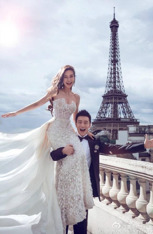 Vợ chồng Angelababy và Huỳnh Hiểu Minh lộ ảnh đi mua sắm giữa bão tin đồn ly hôn - 3