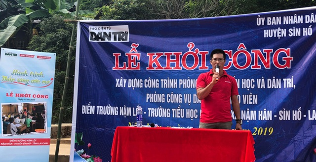 Báo Dân trí vượt hàng trăm cây số xây phòng học tặng các em học sinh dân tộc Dao - 10