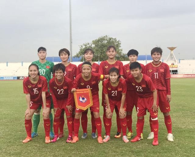 Đội tuyển nữ Việt Nam thắng đậm Campuchia tại giải Đông Nam Á - 1