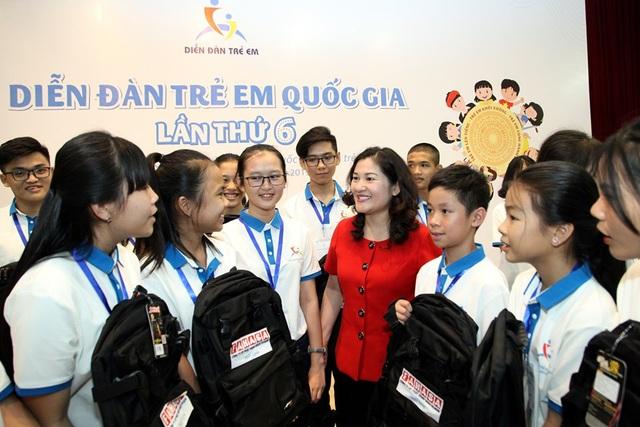 Đại diện của 26 triệu trẻ em bày tỏ quan điểm tại Hà Nội - 1