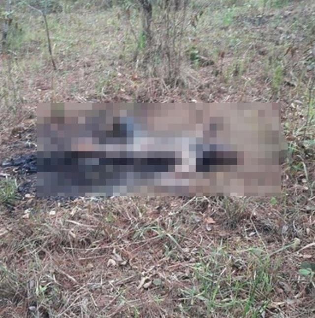 Người đàn ông chết cháy, nghi tự thiêu sau vườn nhà - 1