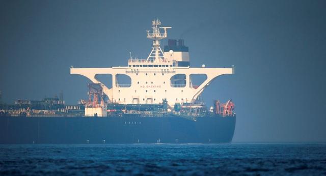 Mỹ ra lệnh bắt siêu tàu chở dầu Iran vừa được Anh thả tự do - 1