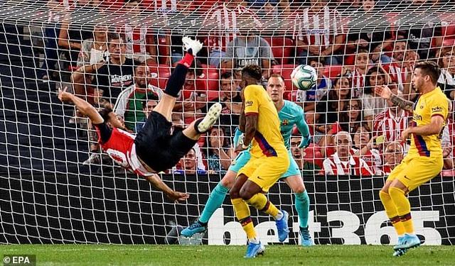 Vắng Messi, Barcelona gục ngã trước Bilbao ở ngày mở màn La Liga - 5