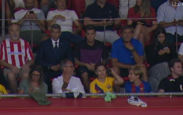 Vắng Messi, Barcelona gục ngã trước Bilbao ở ngày mở màn La Liga - 1
