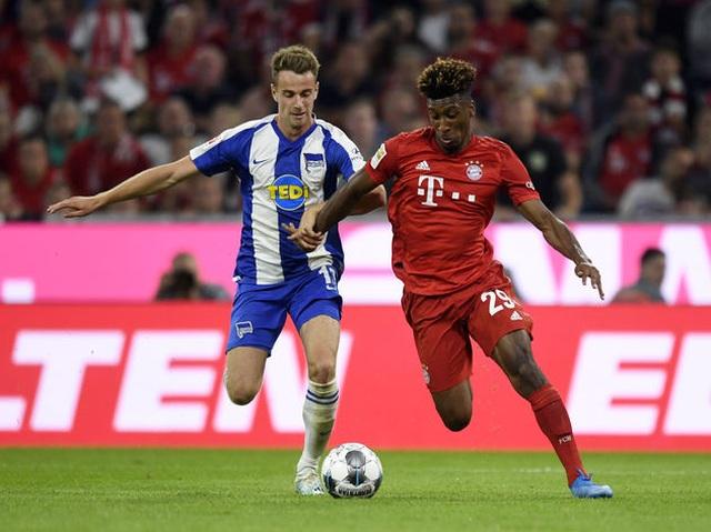 Bayern Munich 2-2 Hertha Berlin: Màn ra quân gây thất vọng của Hùm xám - 1
