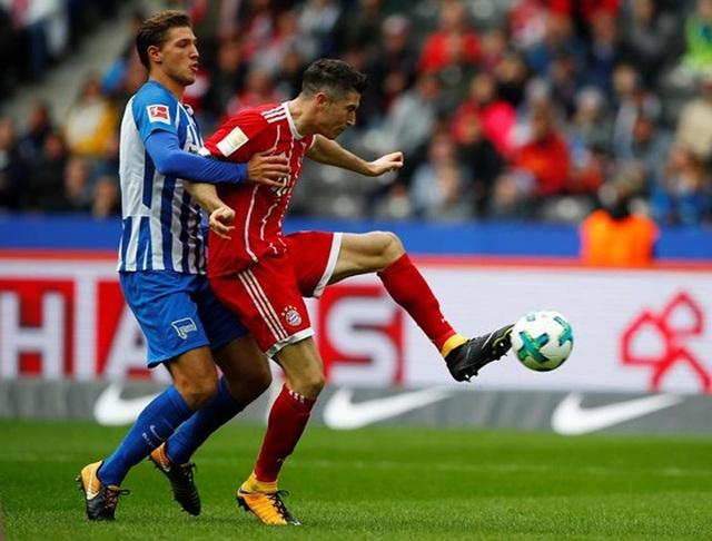 """Bayern Munich 2-2 Hertha Berlin: Màn ra quân gây thất vọng của """"Hùm xám"""""""