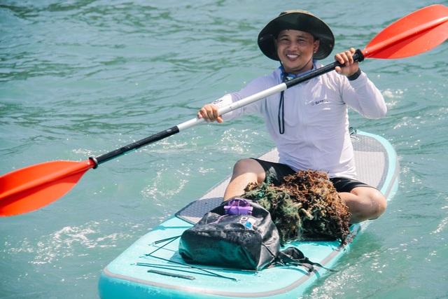 Đà Nẵng: Lần đầu tiên ra quân dọn rác dưới đáy biển - 4