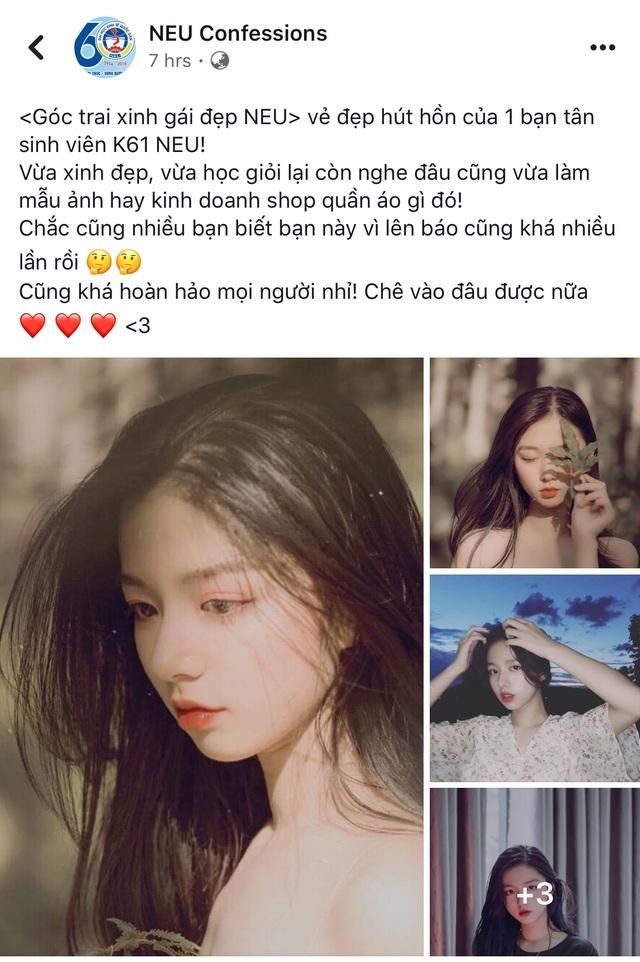 Vừa là tân sinh viên, hot girl Quảng Bình đã thành tâm điểm chú ý - 1