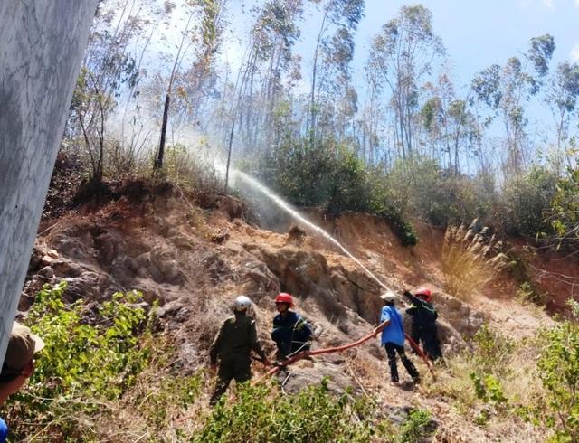 Cháy 3ha rừng trồng, uy hiếp nhiều nhà dân - 5