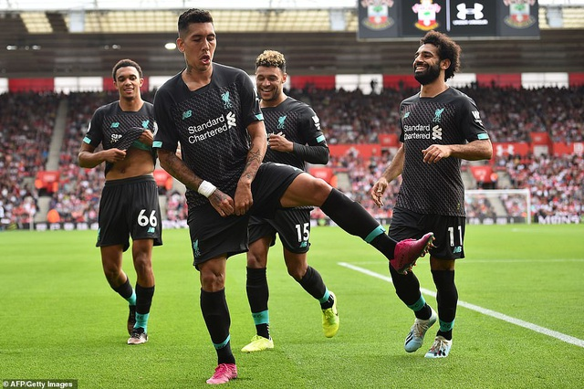 Mane, Firmino giúp Liverpool vượt qua Southampton - 2