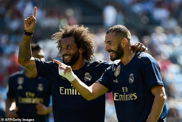 Modric bị thẻ đỏ, Real Madrid vẫn thắng thuyết phục Celta Vigo - 3