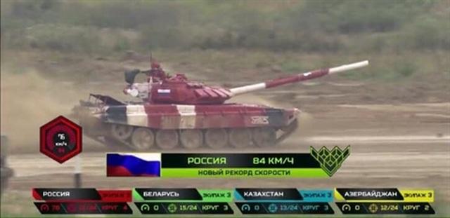 Nga lập kỷ lục mới tại giải đấu Tank Biathlon 2019 - 1