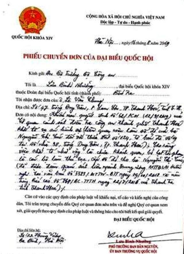 Kỳ án 1 thửa đất 4 sổ đỏ: Đại biểu Quốc hội đề nghị Bộ Công an xem xét xử lý! - 3