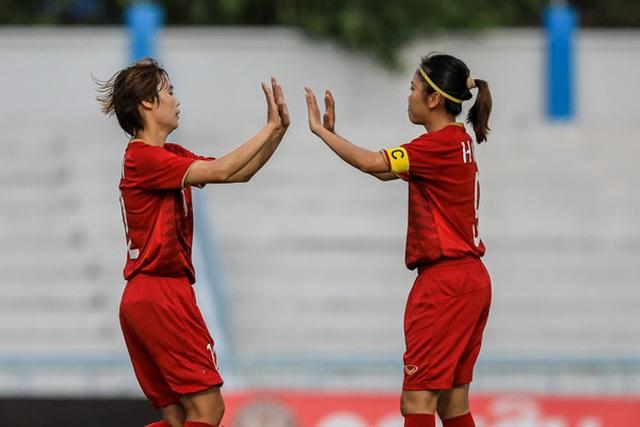 Đội tuyển nữ Việt Nam thắng đậm Indonesia tại giải Đông Nam Á - 1