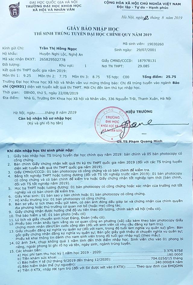 Nước mắt rơi đẫm trên giấy báo nhập học của nữ sinh nghèo xứ Nghệ - 13