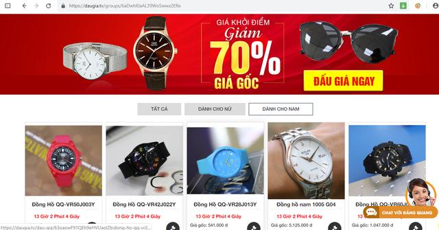 Daugia.tv- rinh về tay đồng hồ, kính mắt ưu đãi đến 50% tại Đăng Quang - 2