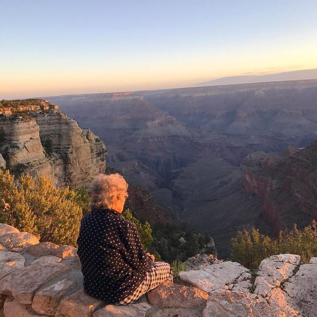 """Cụ bà 89 tuổi đi """"phượt"""" khắp nước Mỹ - 1"""