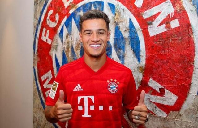 """Bayern Munich chính thức ra mắt """"bom tấn"""" Coutinho - 1"""