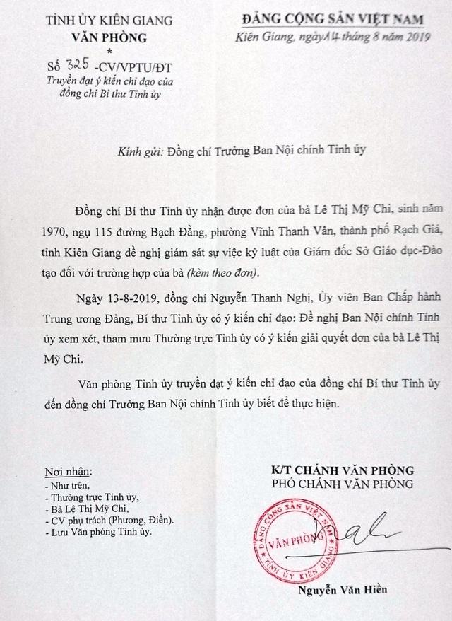 Bí thư Tỉnh ủy Kiên Giang chỉ đạo nóng sau khi nhận lá đơn đẫm nước mắt của dân! - 1